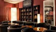 Hotellets flotte og stilrene restaurant