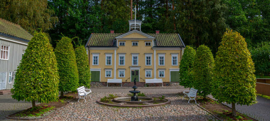 Olsen Reisen hat immer ein gutes Angebot für einen günstigen Hotelaufenthalt im Elsabo Herrgård .