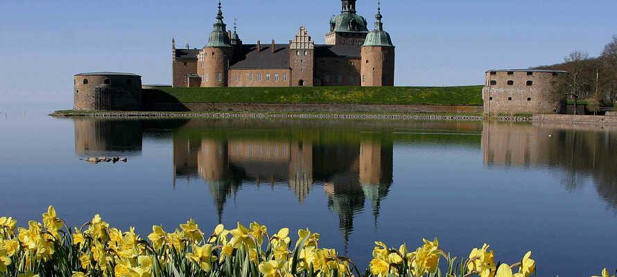 Ta med resesällskapet på en utflykt till Kalmar slott över dagen.