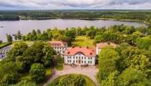 Das Hotel befindet sich in einem Herrenhaus in einer malerischen Gegend in Berga.
