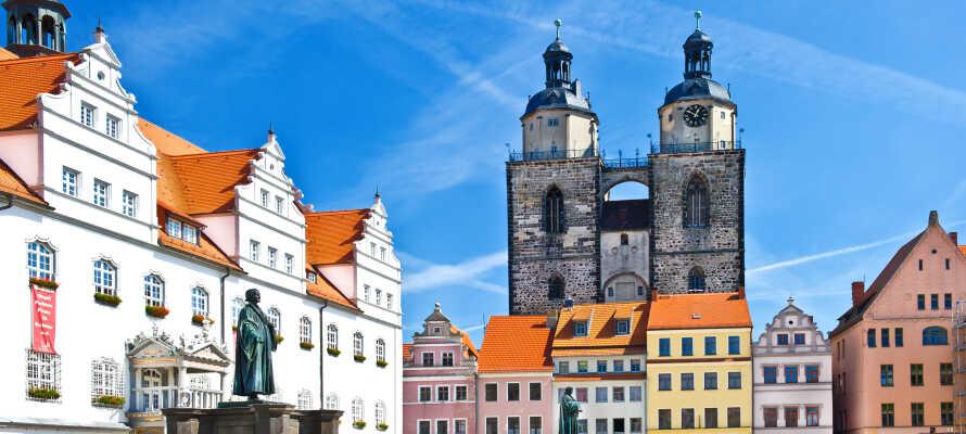 Udforsk byens forbindelse til Martin Luther og reformationen og besøg adskillige UNESCO-listede seværdigheder.