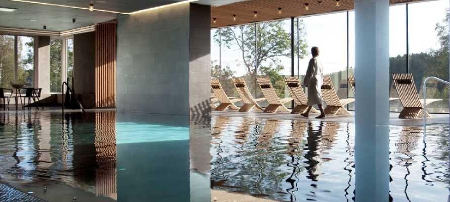 Skjem bort deg selv på et luksuriøst spa-hotell i vakkker natur med en privat strand ved Gullmarsfjorden