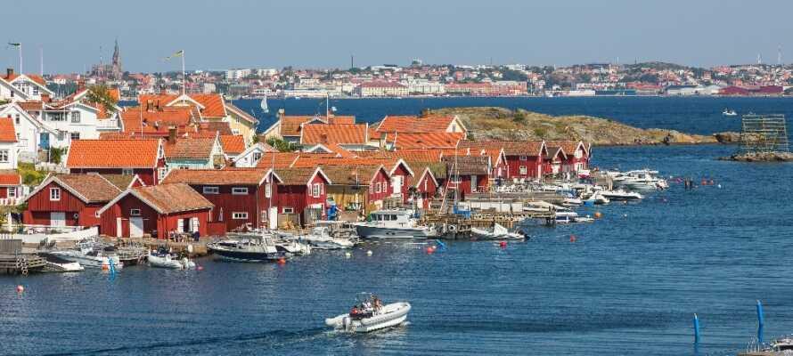 Besøg den gamle kurby Lysekil og få en dejlig kombination af natur, fred, shopping, byliv og gode restauranter.
