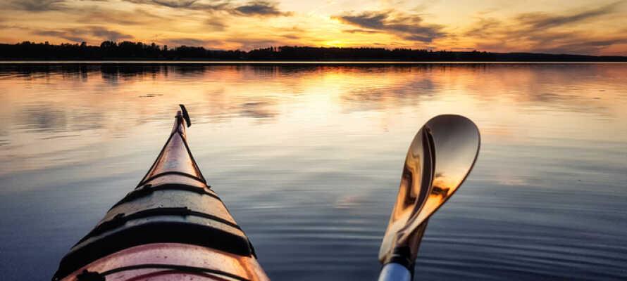 Book en aktiv ferie med gode muligheder for udendørs aktiviteter året rundt.