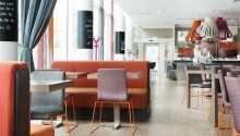 Hotellet er dekoreret i et smagfuldt og lækkert design.