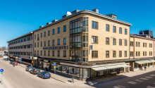 Good Morning Karlstad City har en central beliggenhed, tæt på de fleste af byens mange tilbud.