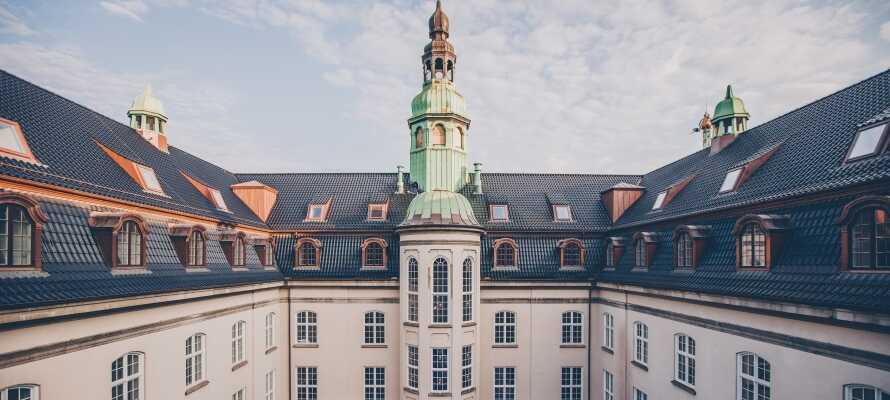 Nyt et eksklusivt opphold på et av Københavns mest luksuriøse hoteller!