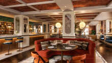 Nyt deilig mat fra hotellets eget brasserie, 'Kontrast'.