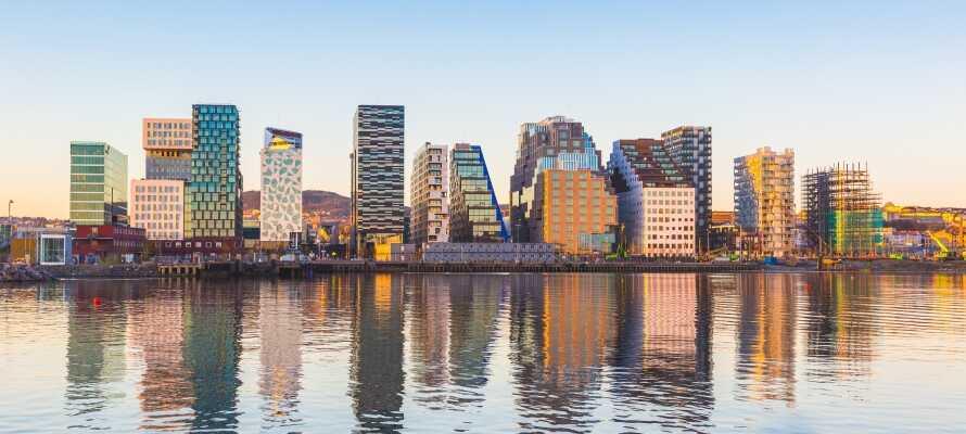 Sie wohnen zentral in Oslo - perfekt für einen Wochenendtrip, Kurzurlaub oder auch Familienausflug.