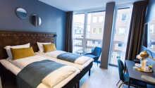 Alle Zimmer haben ein eigenes Bad mit Föhn sowie äußerst bequeme Betten.