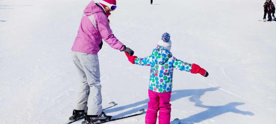 Das Hotel liegt nur 20 km vom Skizentrum Ål entfernt.