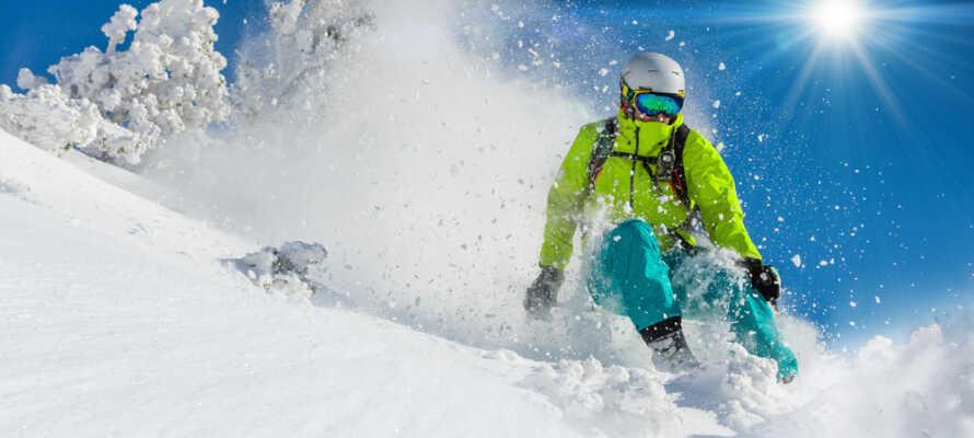 Es ist auch nicht viel weiter zum Liatoppen Skisenter.