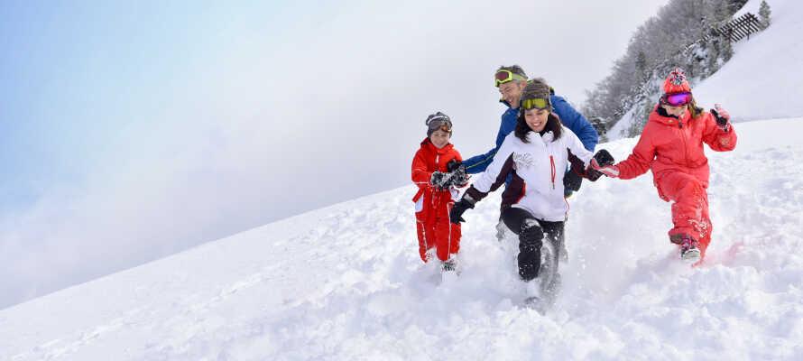 Både Skarslia og Ål Skisenter tilbyder familievenlige omgivelser og børnevenlige vinteraktiviteter.
