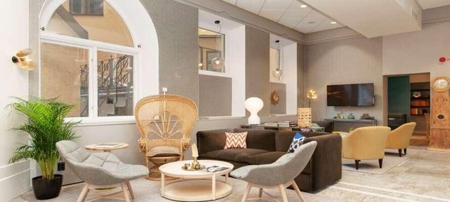 Clarion Collection Hotel Borgen har en sentral beliggenhet i den historiske bygningen fra 1800-tallet.