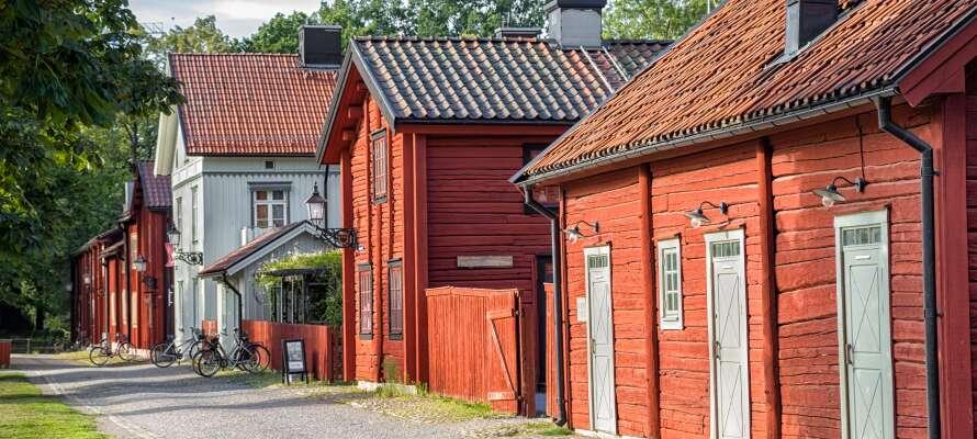 Eller ta barna med til uteområdet på Wadköping.