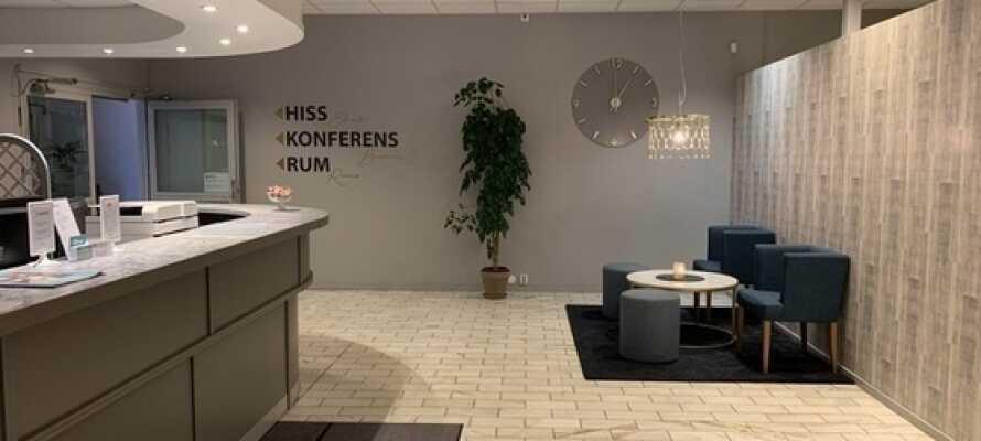Karlskoga Hotell har en central beliggende og let tilgængeligt hvis I kommer med bil.