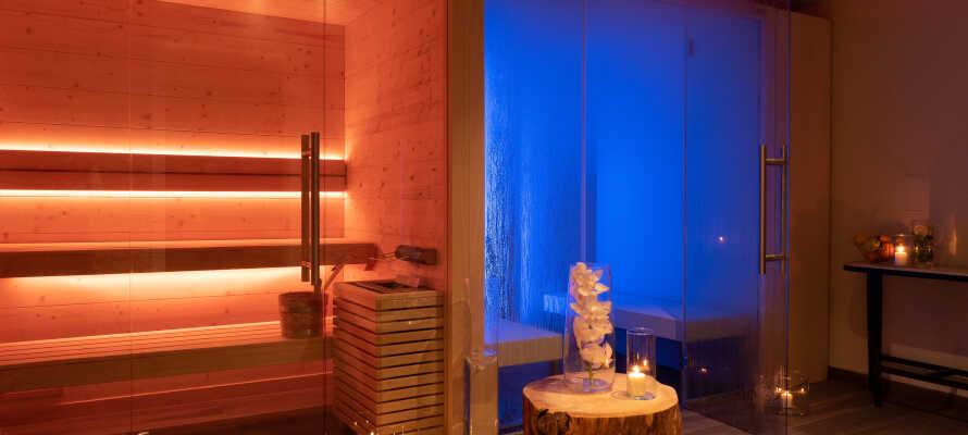 Das Hotel bietet den perfekten Rahmen für einen entspannenden Aufenthalt mit Wellness und Spa.