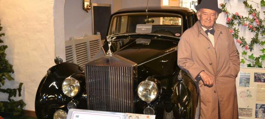 Opholdet inkluderer gratis entré til det populære Motala Motormuseum som huses i samme bygning som hotellet.