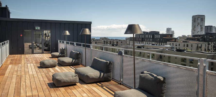 Tag på storbyferie i København på det spritnye Go Hotel City, som ligger i Amager Øst med udsigt over havet.