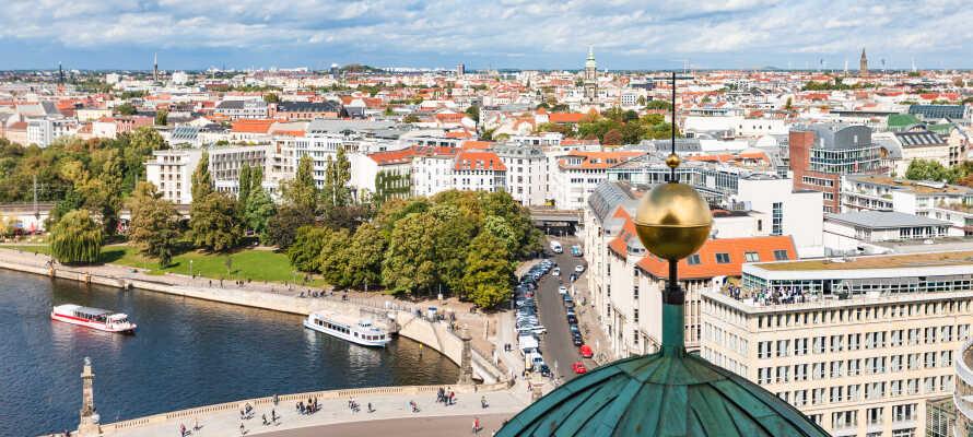 Hotel Tiergarten ligger i Berlin-Mitte og tilbyder en yderst central base for en herlig storbyferie i den tyske hovedstad.