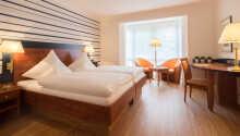 De flotte rommene tilbyr alle et lekkert 4-stjerners komfortnivå.