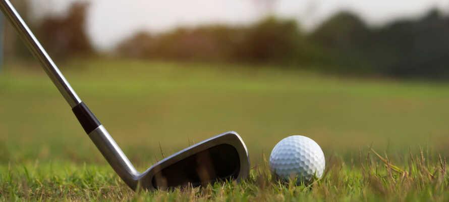 Ni hittar totalt 72 utmanande hål på Golf & Country Club Fleesensee
