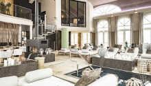 Slappna av i hotellets spa-avdelning som heter Schloss Spa