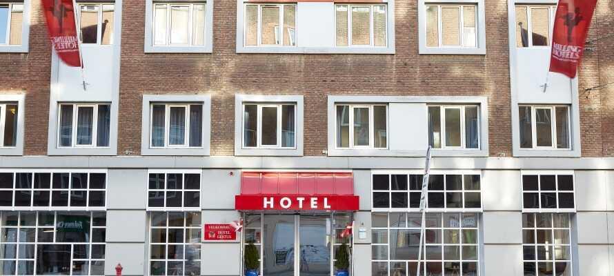 Hotel Gestus er et koselig og familievennlig hotell, som tilbyr en sentral beliggenhet i hjertet av Aalborg