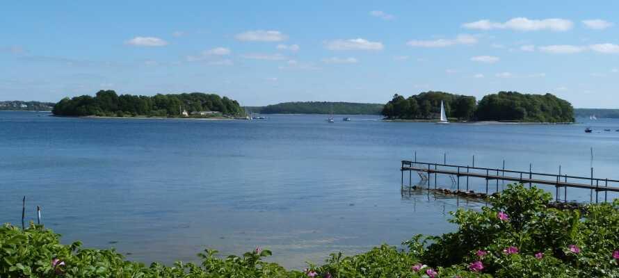 Vom Hotel aus ist es nicht weit zur Ostsee, ideal für einen kleinen Strandspaziergang zwischendurch.