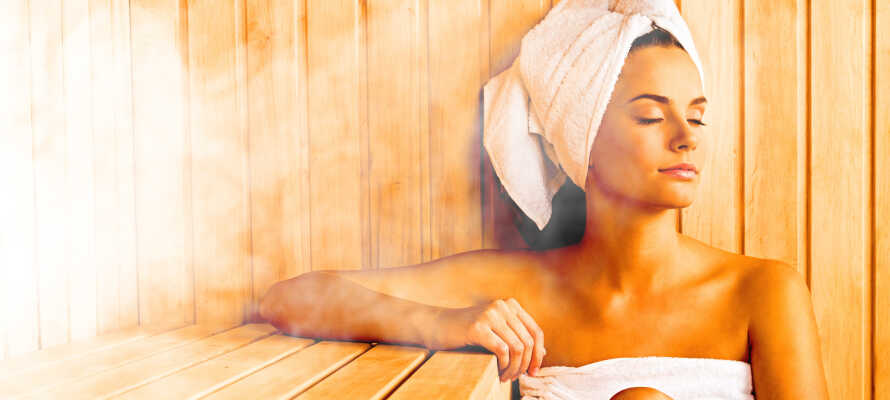 Under oppholdet har dere fri tilgang til hotellets sauna og fitnessområde.