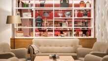 Hotellet tilbyr elegante rammer og oser av uformell luksus.