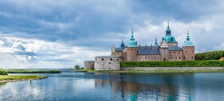 Hotell Svanen ligger i kort afstand fra Kalmar Slot med sin legendariske 800 år lange historie.