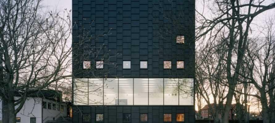 Besøg Kalmars kunstmuseum, som er et af Sveriges mest besøgte moderne museer.