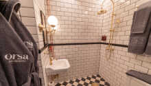 Alle Zimmer des Hotels sind mit eigenem Bad und WC ausgestattet.