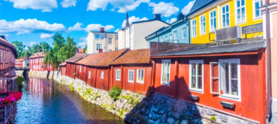 Opplev nærliggende Västerås med reisebyrået, kun ca. 30 minutter fra Köping.