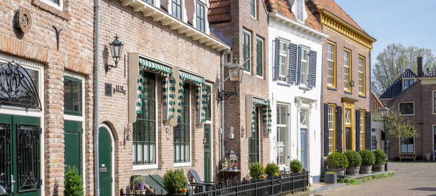 Besøg den historiske by Harderwijk og Harderhavnen.