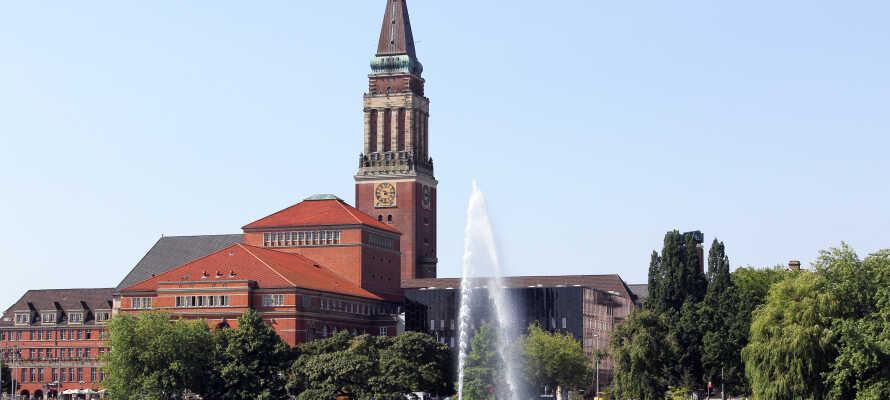 Oplev rådhuset i Kiel, som er et af byens vartegn.