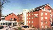 Parkhotel am Glienberg ligger i badebyen Zinnowitz ved Østersøen.