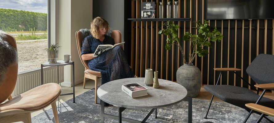 Hotellet giver jer et godt og roligt udgangspunkt for en oplevelsesrig ferie i København.