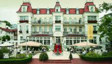 Das SEETEL Hotel Esplanade begrüßt Sie in einer romantischen, historischen Umgebung auf Usedom.