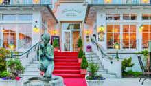 Das Hotel befindet sich in einem historischen Schlossgebäude aus dem Jahr 1896.