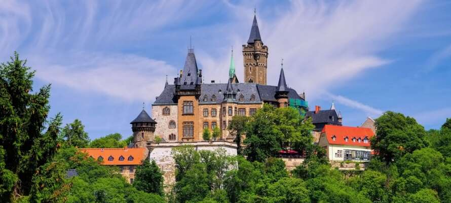 Det flotte slottet i Wernigerode er verdt et besøk.