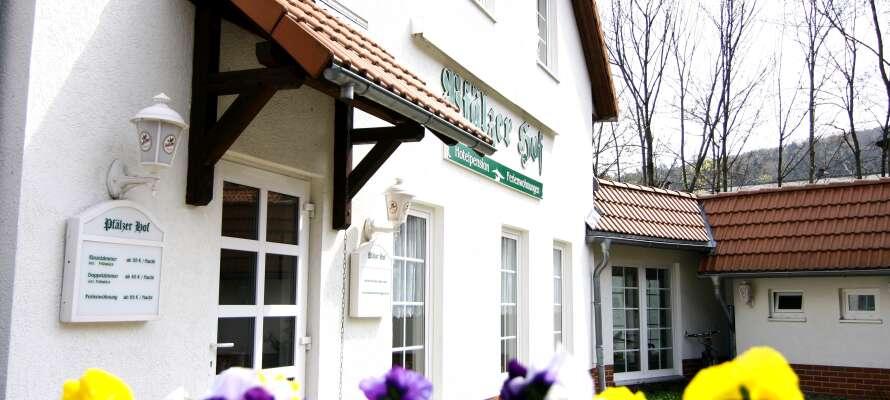 Regiohotel Pfälzer Hof er et hyggelig familiehotell.