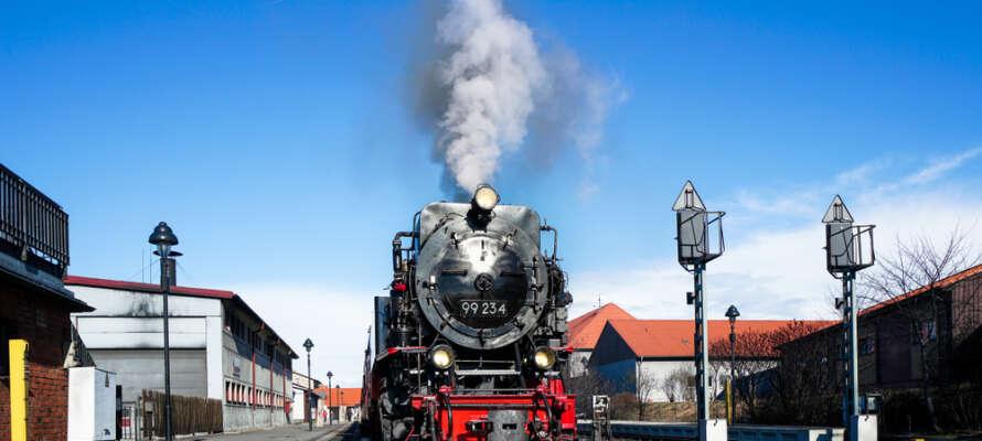 Like ved den kjente Harzer Schmalspurbahn.