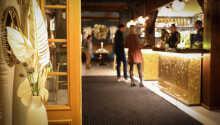 Det smukke boutiquehotel har sin helt egen charme, og tilbyder en hyggelig og autentisk atmosfære.