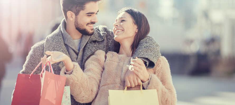 Nutzen Sie Ihren Schwedentrip für tolle Shoppingerlebnisse.