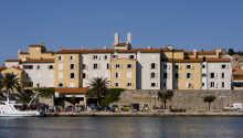 Hotellets flotte innredning legger opp til kos og avslapning
