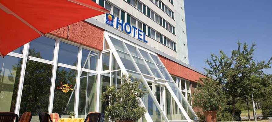 Das Comfort Hotel Lichtenberg liegt im großen Bezirk Lichtenberg, nahe des Alexanderplatz.