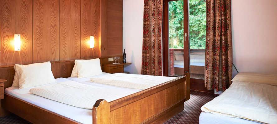 Hotel Färberwirt har tradisjonelt innredede værelser, perfekt for et avslappende opphold.