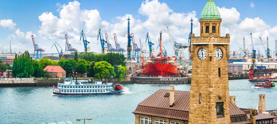 Boka en härlig storstadssemester i Hamburg, med massor av kulturella och historiska sevärdheter.